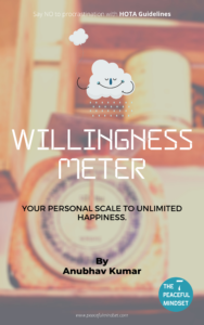 Willingness Meter By Anubhav Kumar